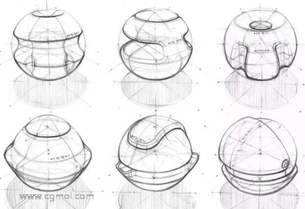 产品手绘中线条的类型以及画几何体的重要性
