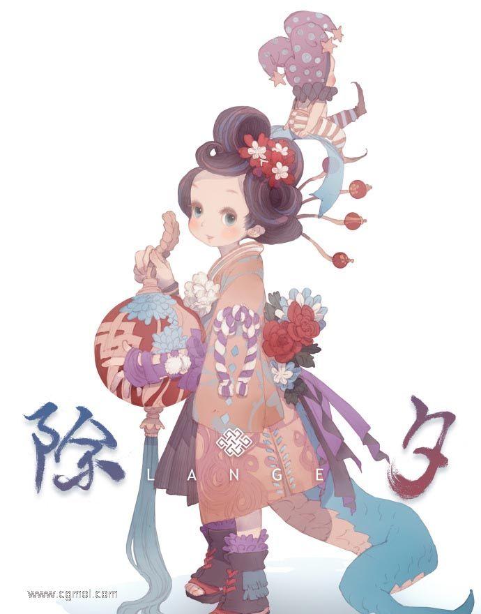 游戏中的萝莉和正太3D,原画设计新百伦标志设计含义图片