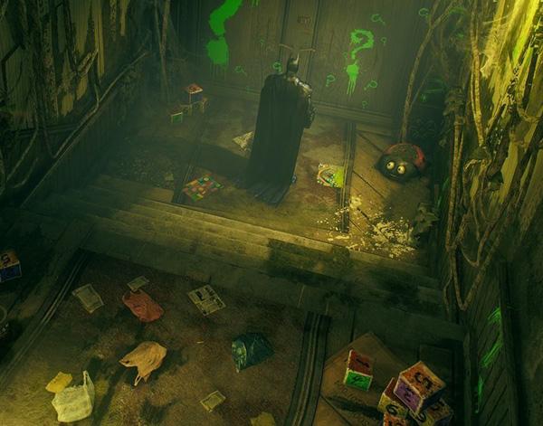 蝙蝠侠阿卡姆骑士-里德尔孤儿院