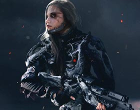 女战士  (图)