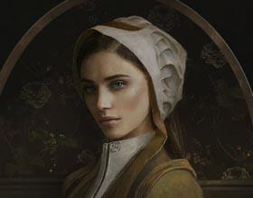 女人 肖像CG (图)