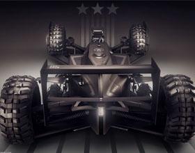 奥迪赛车+未来美军单人战车