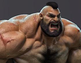 肌肉猛男,真正的勇士,摔跤选手