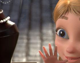 可爱的动画小女孩,小妹子