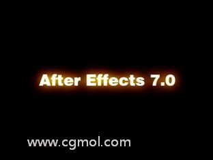 AE粒子线条光效教程