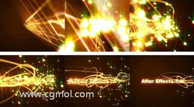 4AE粒子线条光效教程