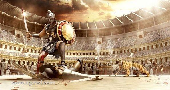 古罗马角斗场 maya