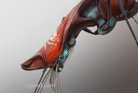 zbrush如何设计和建模外星生物二