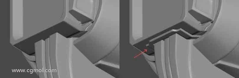 3dsmax硬表面建模之在交叉点增添连接点