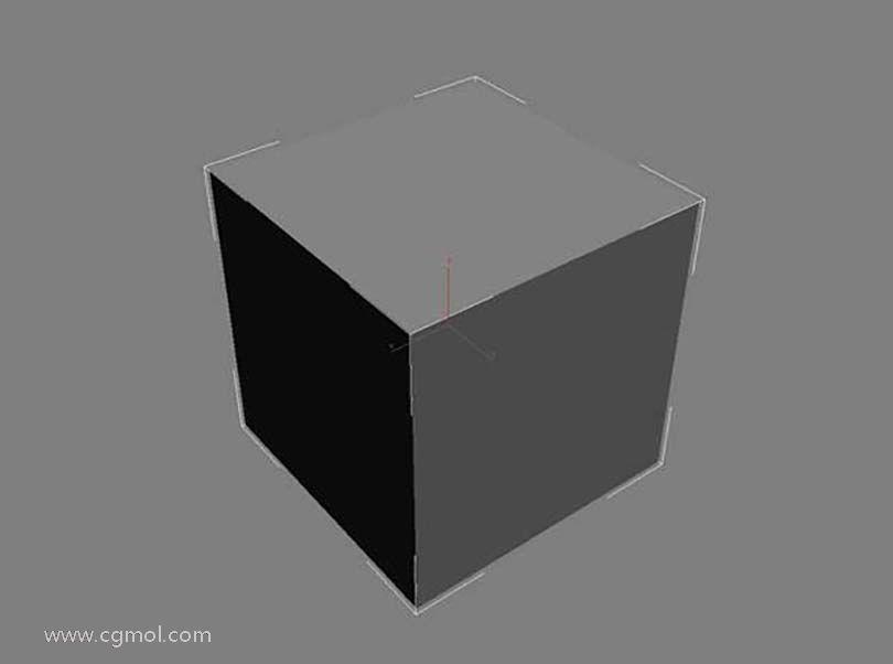 3dsmax足球贴图具体的制作步骤之创建一个box