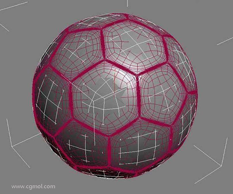 3DsMAX足球贴图具体的制作步骤之得到正确的法线贴图