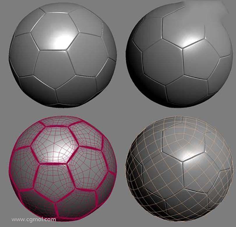 3DsMAX足球贴图具体的制作步骤之制作无缝的贴图