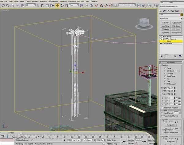 3DsMAX纹理贴图技巧之常规纹理混合模式改为柔光