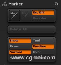 ZBrush Marker�擞�特殊情�r