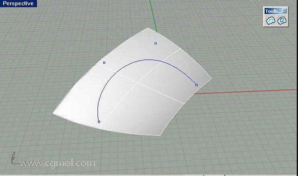 在曲面内做曲线和曲面的插件使用技巧及插件下载