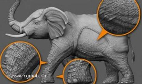 Zbrush中的凹凸贴图,法线贴图和置换贴图区别和介绍