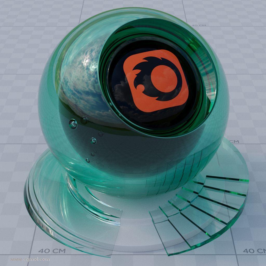 彩色玻璃 - 吸收