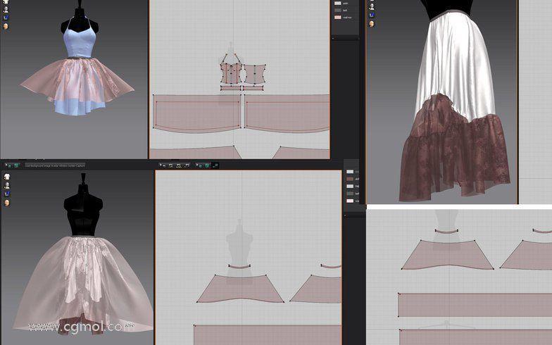 使用Marvelous Designer进行布料模拟