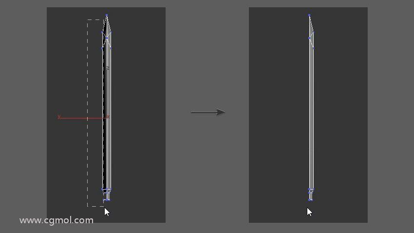 删除一半剑刃