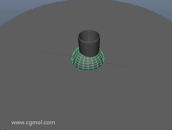 该球将被创建,但它会小很多