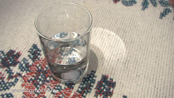 Maya如何创建逼真的玻璃杯和水,并完成准确的焦散?(五)