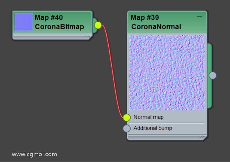 max的Corona渲染器如何使用法线贴图?