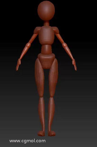 光滑圆柱体和脚并调节