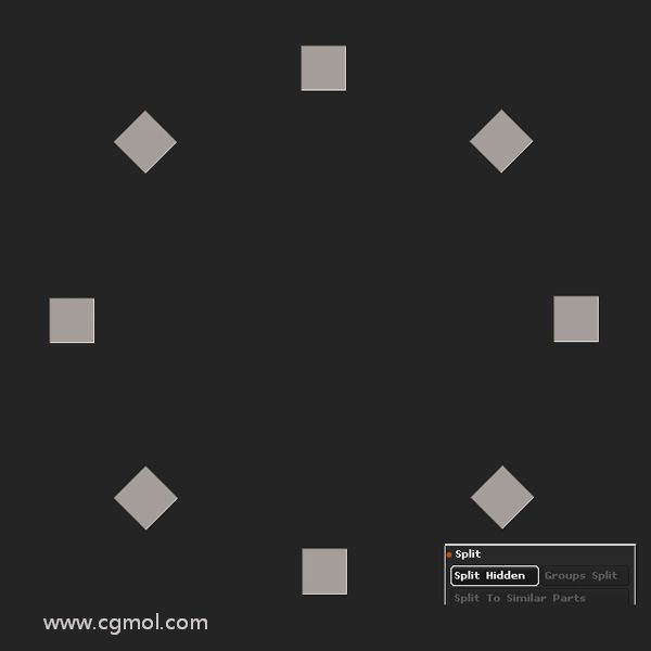 Control-Shift��舳嗑S���集以隔�x它��,然后���  Split Hidden