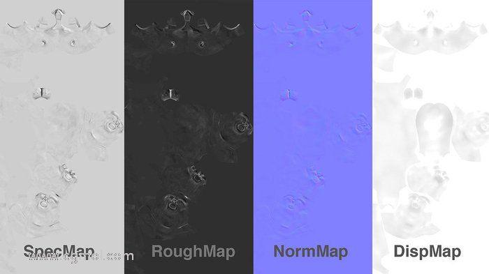一些来自ZBrush的地图
