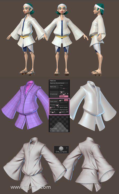 在ZBrush中建模和服