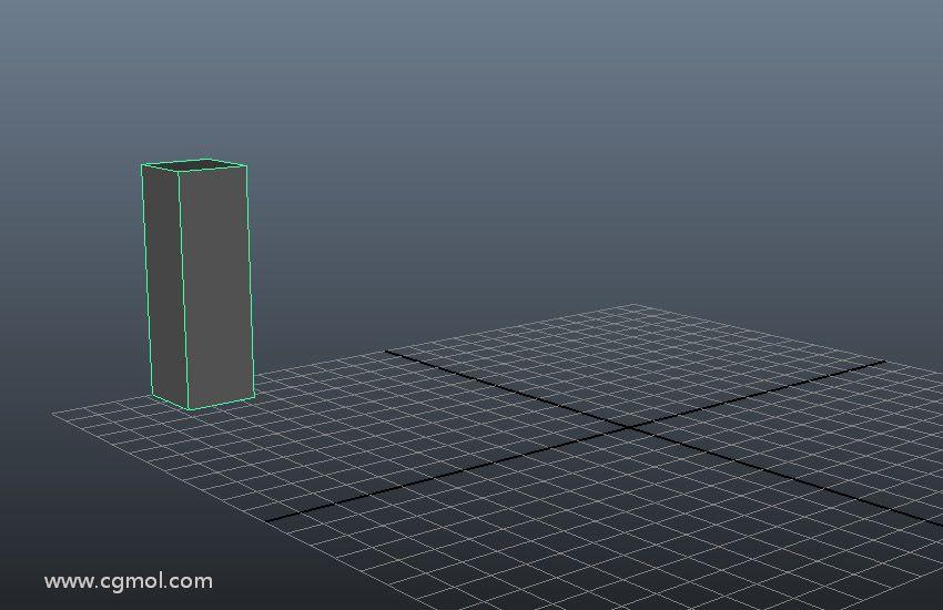 创建一个立方体