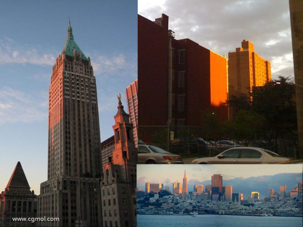 如何使用max和vray获得真实的日出&日落的场景照明(一)