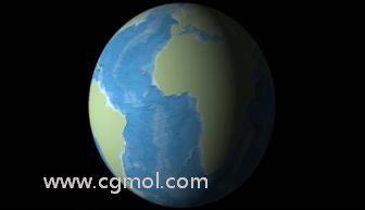 AE如何制作地球LOGO